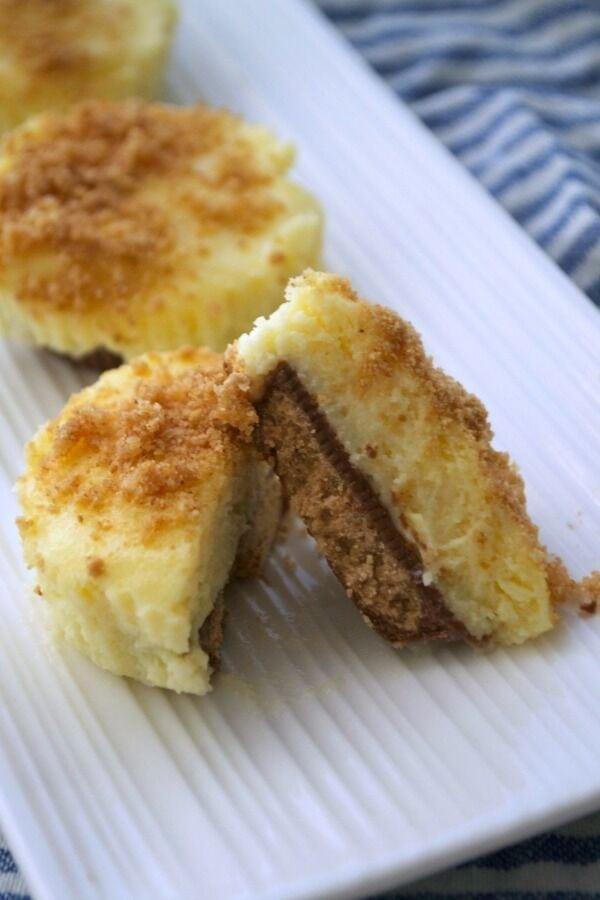 Peanut Butter Cheesecake Cups recipe