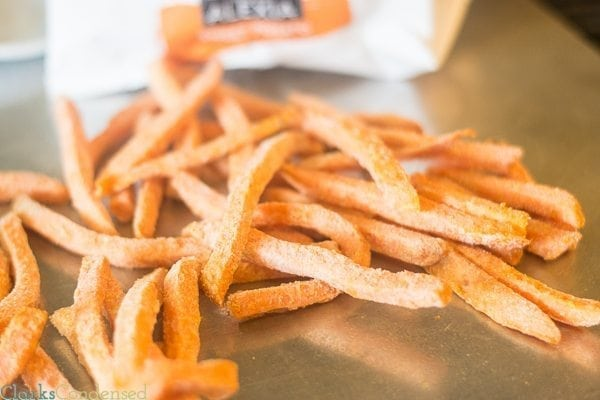 Bake your Sweet Potato Fries