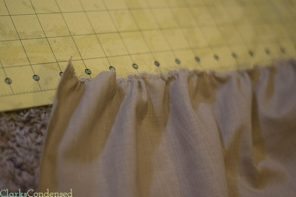 How to Gather Using a Sewing Machine