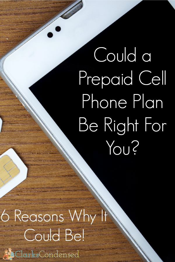 Is a prepaid cell phone the right choice for you? Here are 6 prepaid cell phone benefits to help you determine that!
