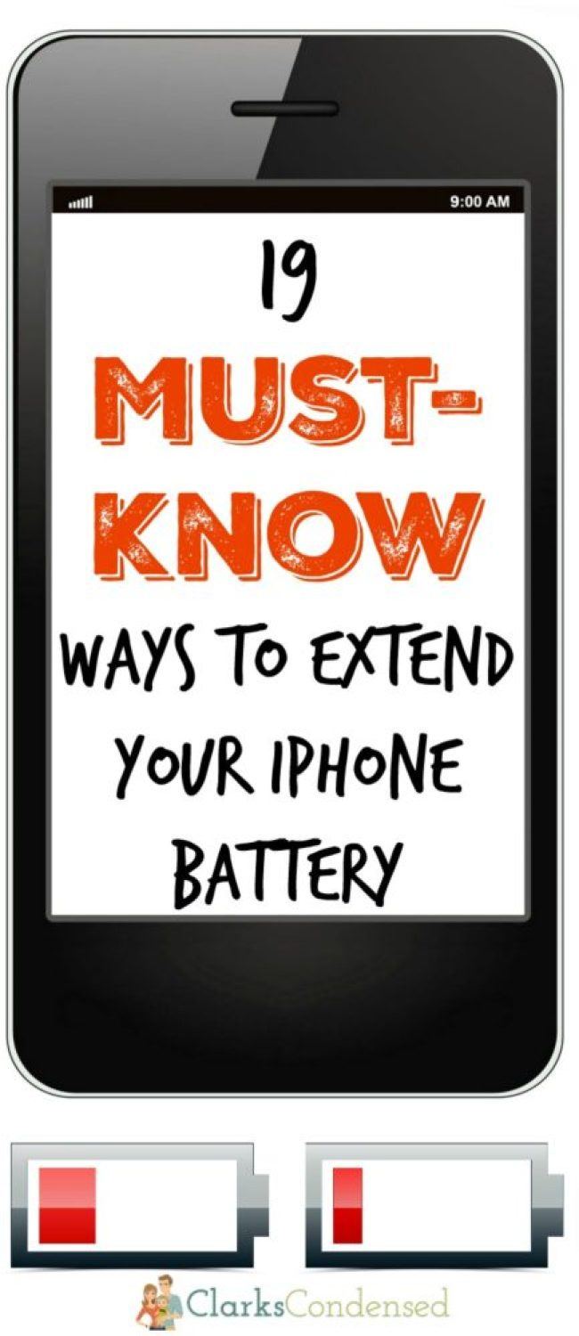 Is your iPhone's battery always dying? Then you NEED to read these 19 ways to extend your iPhone battery!