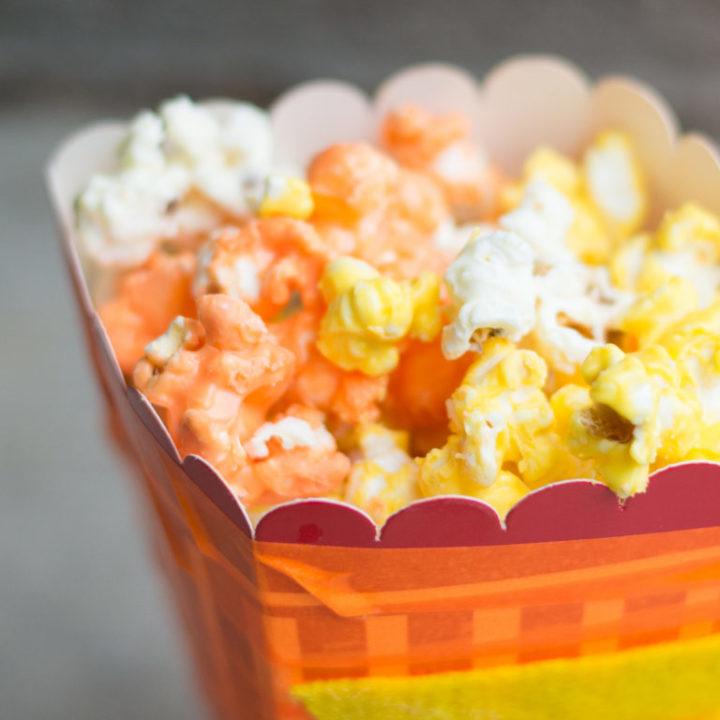 Candy Corn Popcorn