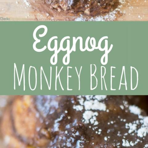 Egg Nog Monkey Bread