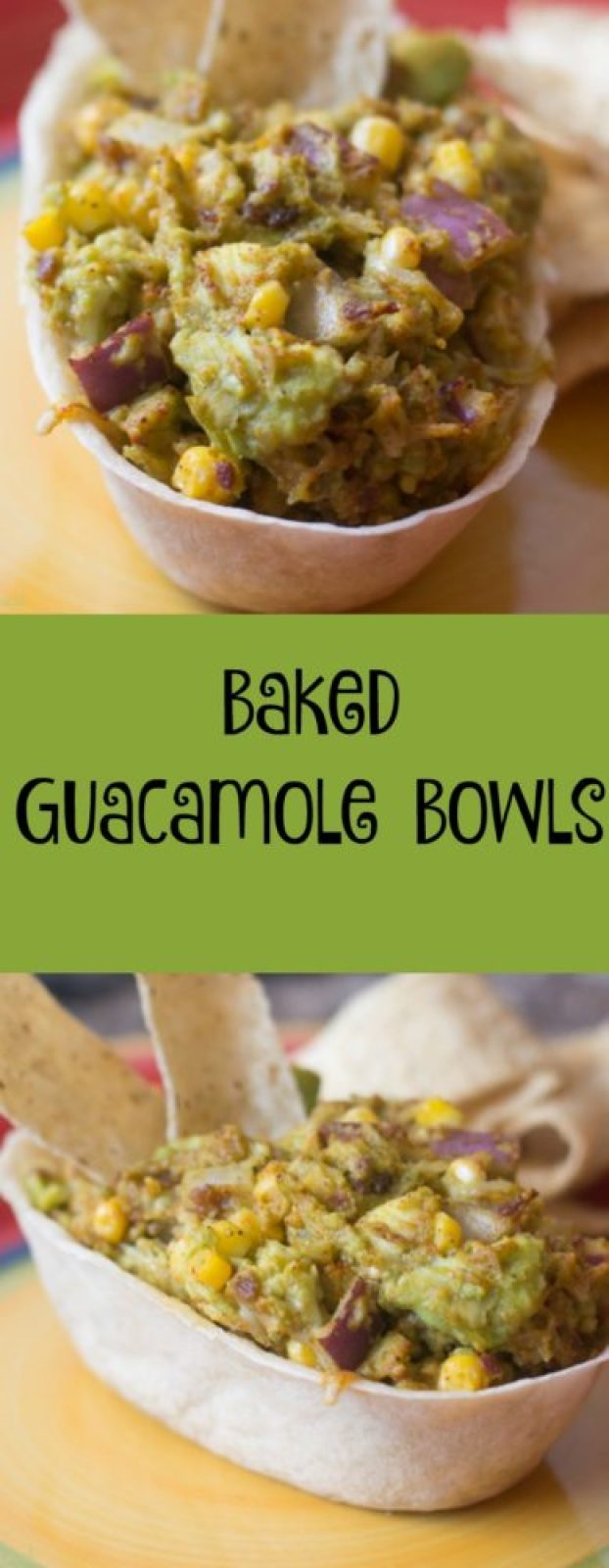 If you are a guacamole fan, you won't want to miss these loaded baked guacamole bowls. They are the perfect portable appetizer and are a fun twist on a traditional fare!