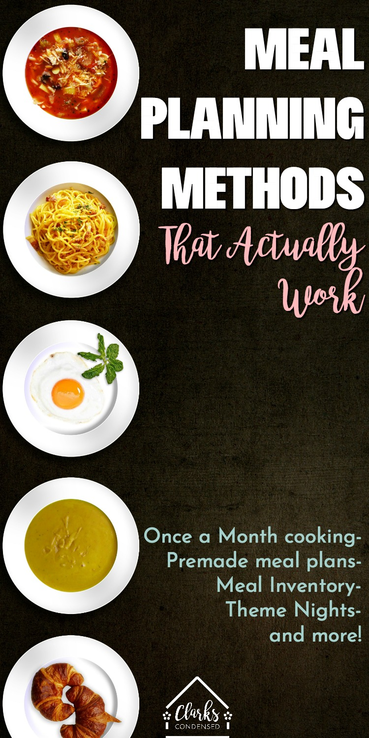 Meal Planning 101: The Best Methods that Actually Work via @clarkscondensed