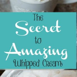 Amazing Whipped Cream