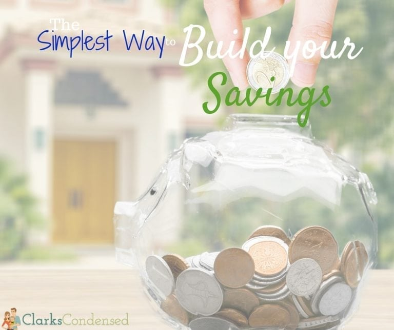 Many middle class Americans couldn't come up with $400 in an emergency - don't be one of them. Here's the simplest way to start building your savings today.