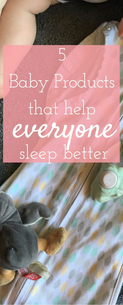 5 Baby Products that Help EVERYONE Sleep Better! via @clarkscondensed