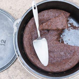 Dutch Oven Chocolate Cake Recipe
