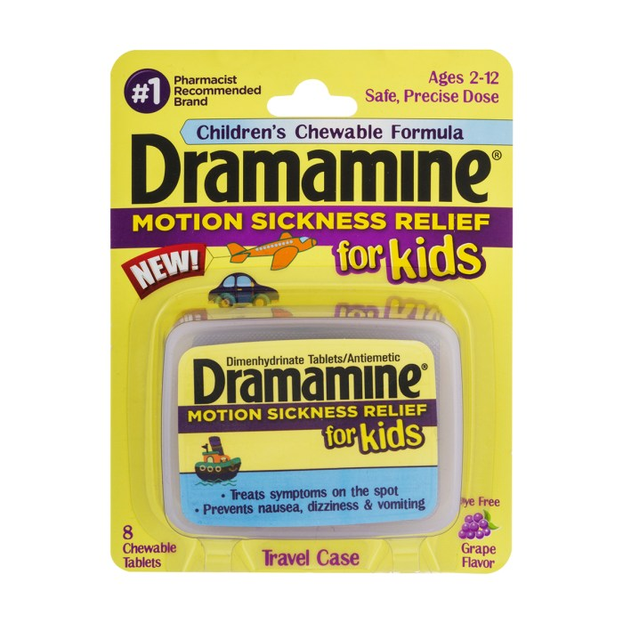 Dramamine for Kids