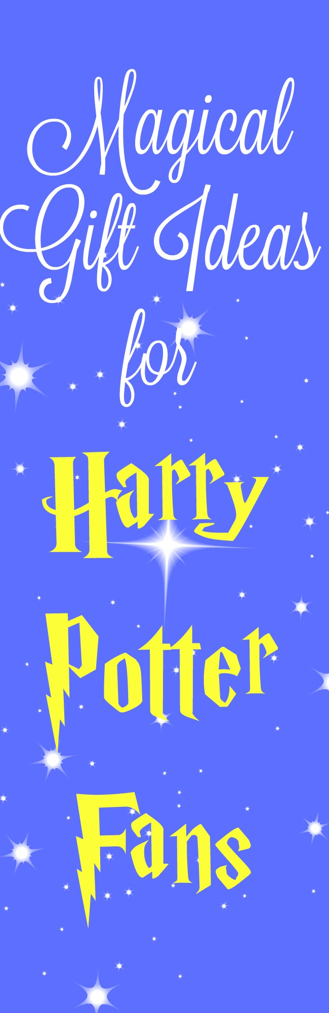 Magical gift ideas for Harry Potter fans