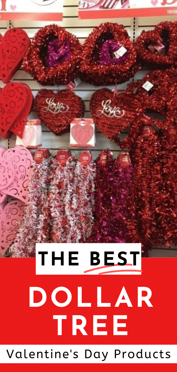 The Best Dollar Tree Valentine's Day Products / Valentine's Day / Inexpensive Valentine's Day / Dollar Tree Ideas via @clarkscondensed