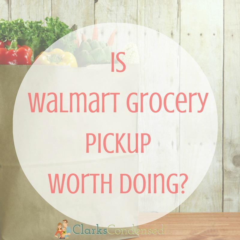Pickup Groceries at Walmart