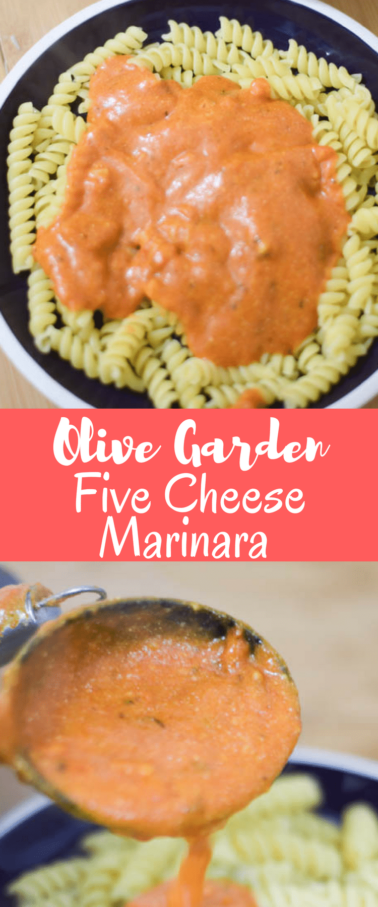Copycat Olive Garden Five Cheese Marinara Recipe / Olive Garden Copycat Recipe / Olive Garden Marinara / Five Cheese Marinara / 5 Cheese Marinara / Easy marinara via @clarkscondensed