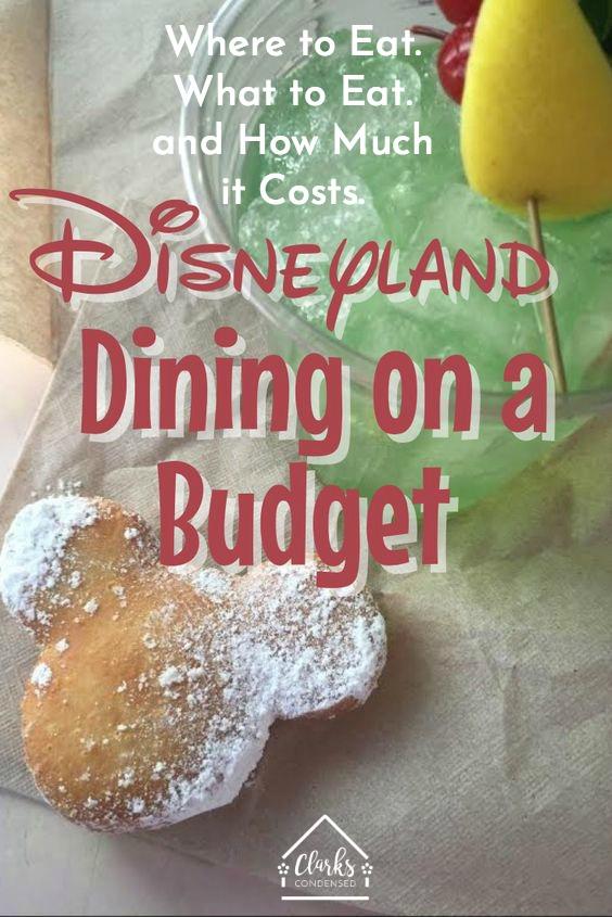 Disneyland / Disneyland Tips / Tips for Disneyland / Disneyland Dining / Disneyland Food / Disneyland on a Budget / Family at Disneyland / Disneyland Vacation via @clarkscondensed