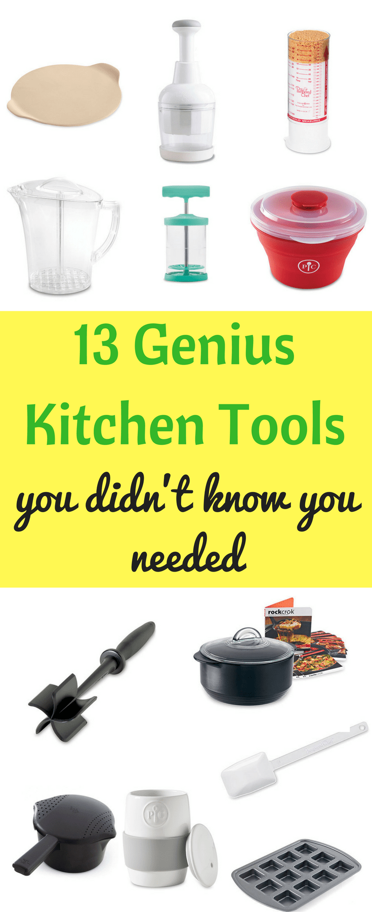 Best Pampered Chef Products / Genius Kitchen Tools / Helpful Kitchen Tools / Kitchen/ Cooking / Beginning Cook / Cooking Utensils / Mother's Day Gifts / Gift Ideas / College Gift Ideas via @clarkscondensed