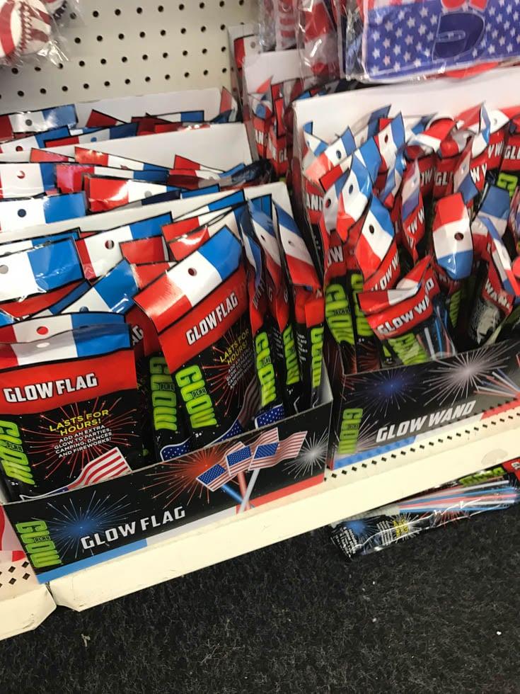 dollar tree glow sticks