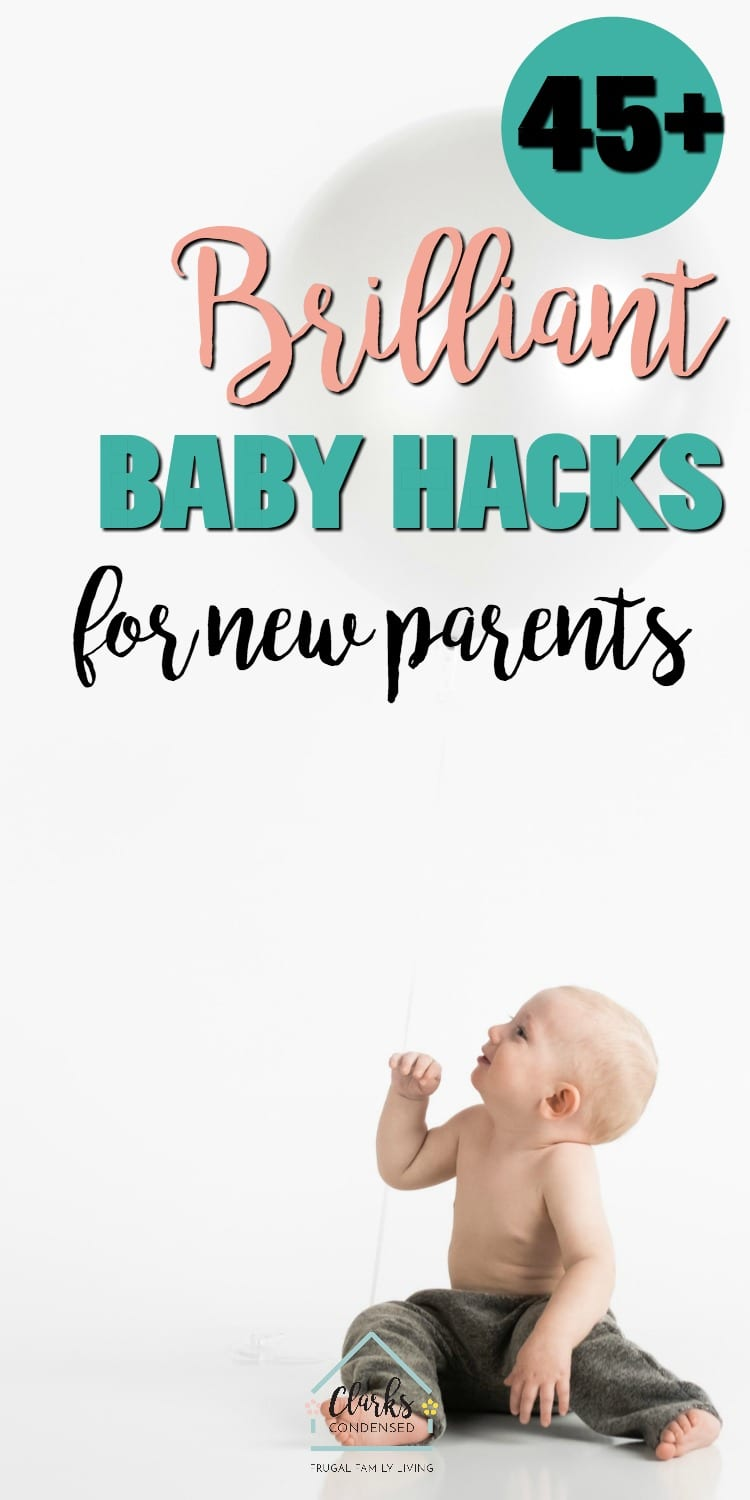 97a29423a 45+ Brilliant Baby Hacks for New Parents
