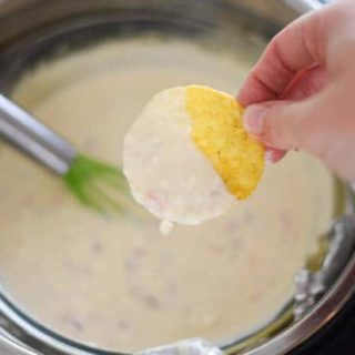 Instant Pot White Queso Dip