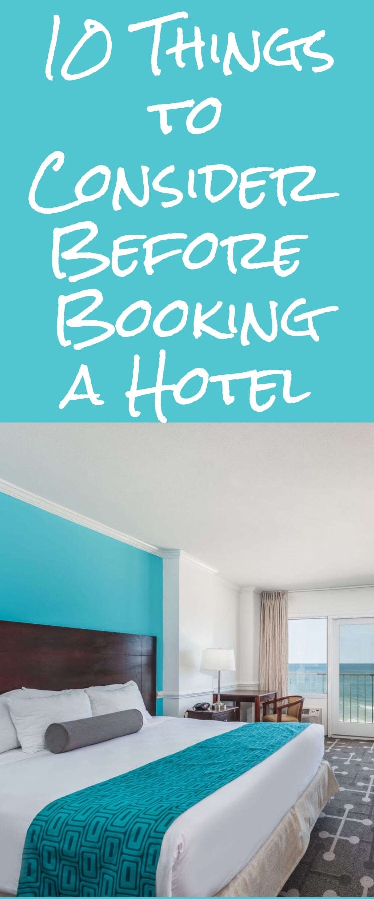 10 Things to Consider Before Booking a Hotel via @clarkscondensed
