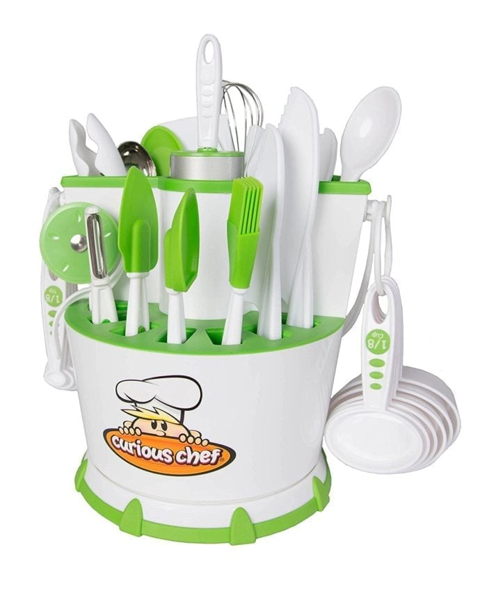 Cook and Chef toy utensils
