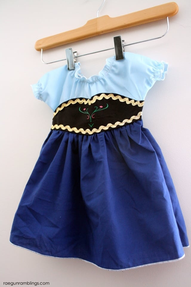 anna costume for baby