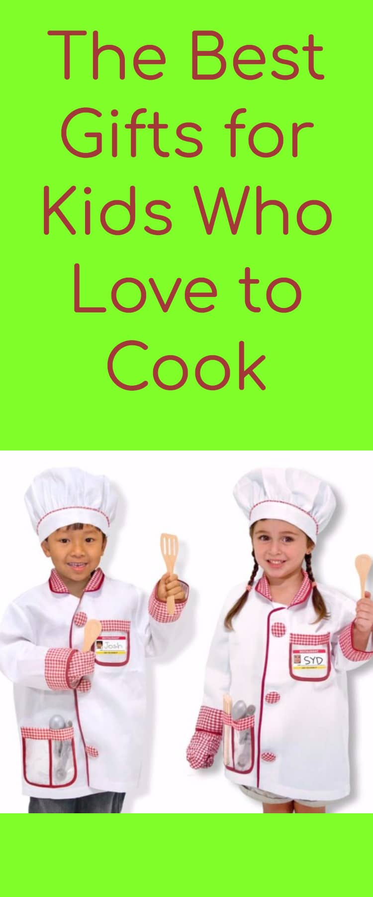 Cooking Gifts / Gift Ideas for Kids / Cooking Ideas / Kid Cooking #Christmas #Christmasgifts via @clarkscondensed