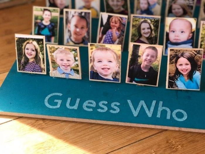 DIY Guess Who Board Game
