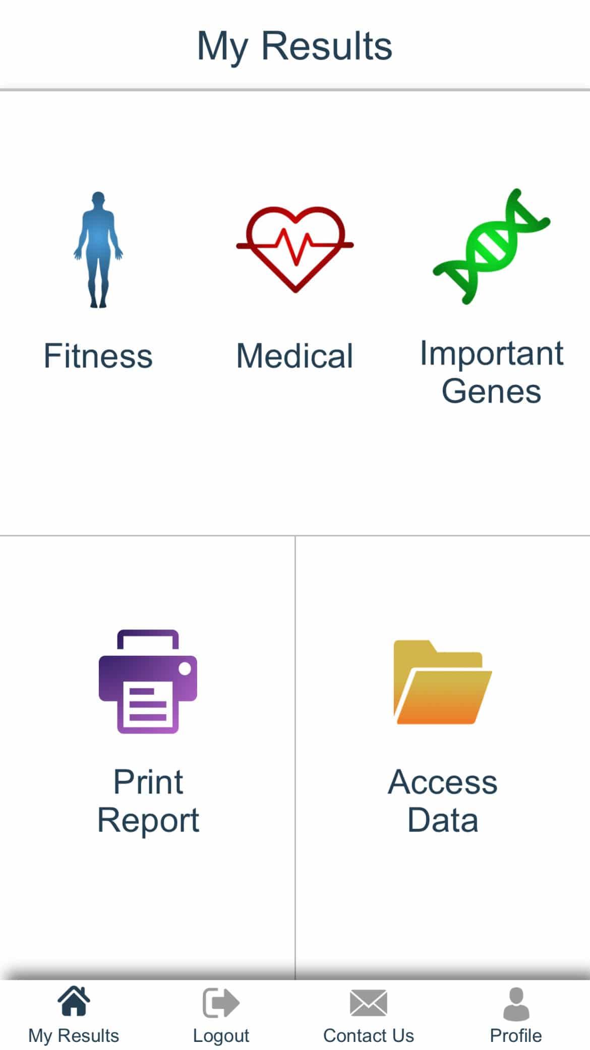 Genetics App