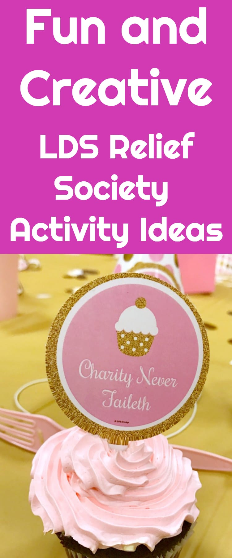 Relief Society / Visiting Teaching / LDS / Activity Ideas / Relief Society Activities / #LDS #mormon #reliefsociety via @clarkscondensed