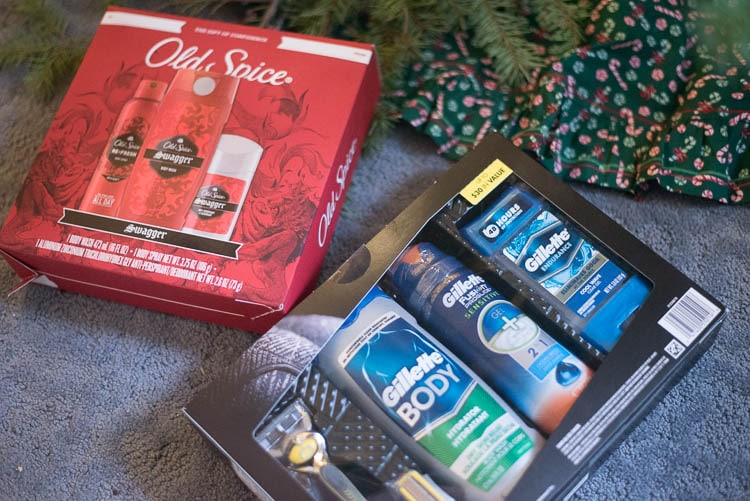 Gift idea for him, cosmetic products