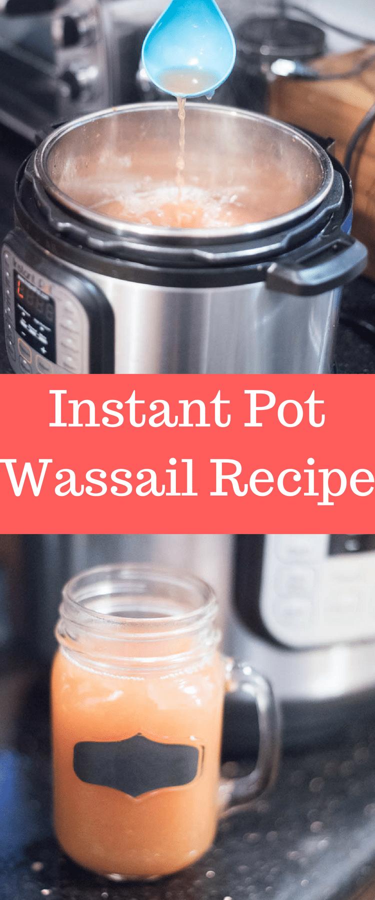 Instant Pot Recipe / Instant Pot Drink Recipe / INstant Pot Wassail / Instant Pot Apple Cider / Non-Alcoholic Drinks #instantpot #instantpotrecipes #pressurecooker  via @clarkscondensed