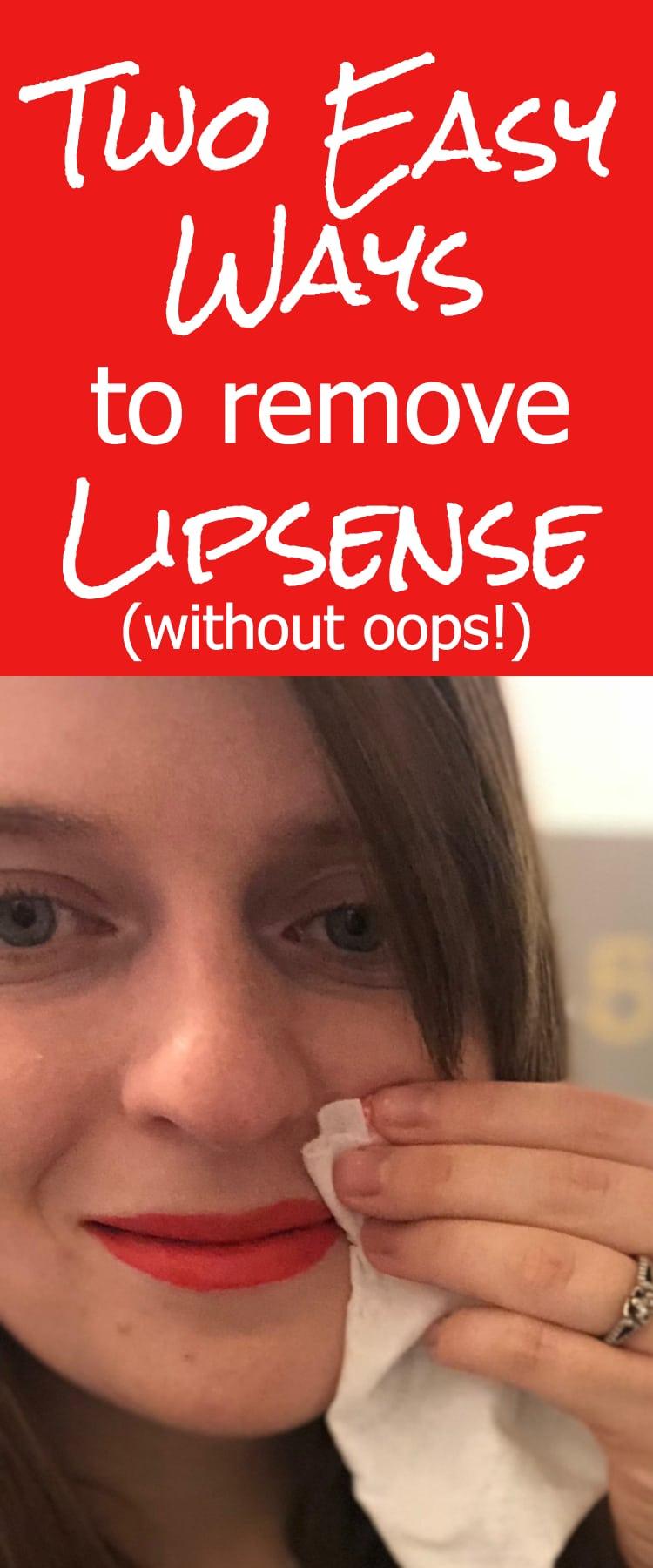 How to remove lipsense / lipsense remover / lipsense removal