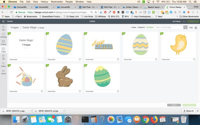 Cricut Easter Magic