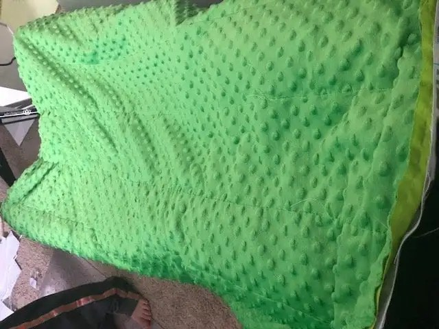 Diy Weighted Blanket For Toddlers Easily Adaptable For
