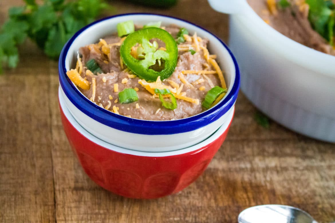 Pressure Cooker Refried Beans