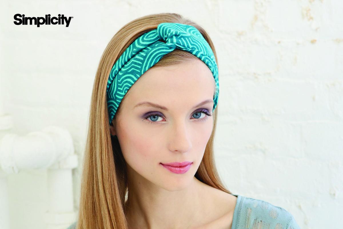 DIY woman's headband
