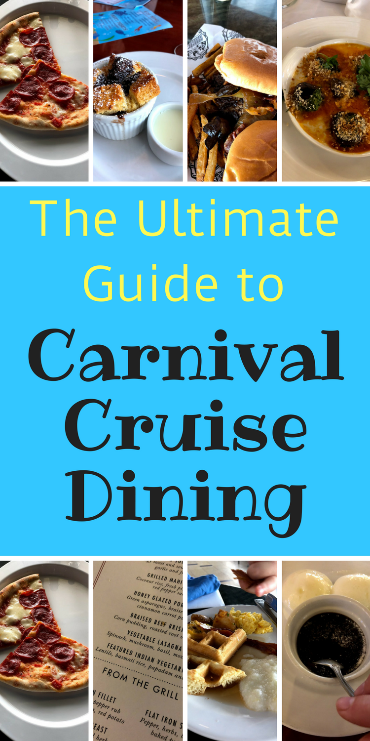Carnival Cruise / Cruise Food/ Cruises / Cruise Tips / Carnival Cruise Line #Carnival #cruise #food via @clarkscondensed