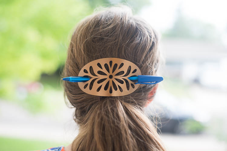Leather Hair Accessory