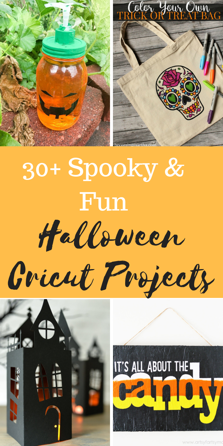 Cricut Halloween Projects Decorations and Other Spooky