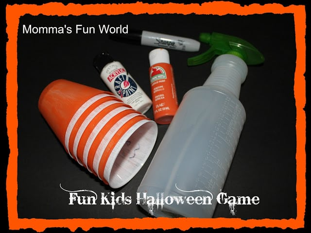materials for halloween game