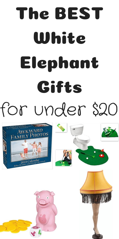 White Elephant Gifts / White Elephant Gift Ideas / Inexpensive White Elephant Gifts / White Elephant Game via @clarkscondensed