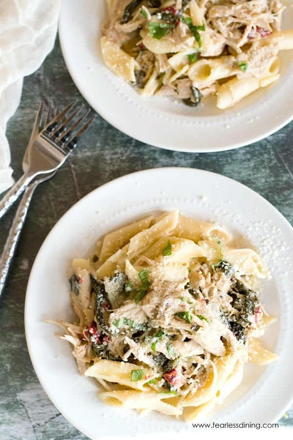 Creamy Tuscan Chicken Pasta