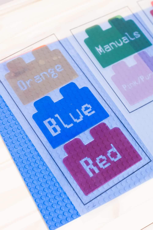 printable LEGO labels
