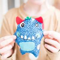 DIY Tooth Fairy Pillow and Pattern + Teaching Kids to Sew