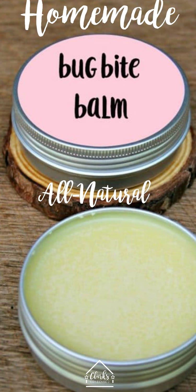 Homemade bug bite cream / homemade anti-itch cream / essential oils / homemade lotion #essentialoils via @clarkscondensed