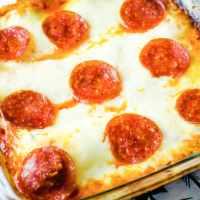 Easy Pepperoni Pizza Lasagna Recipe