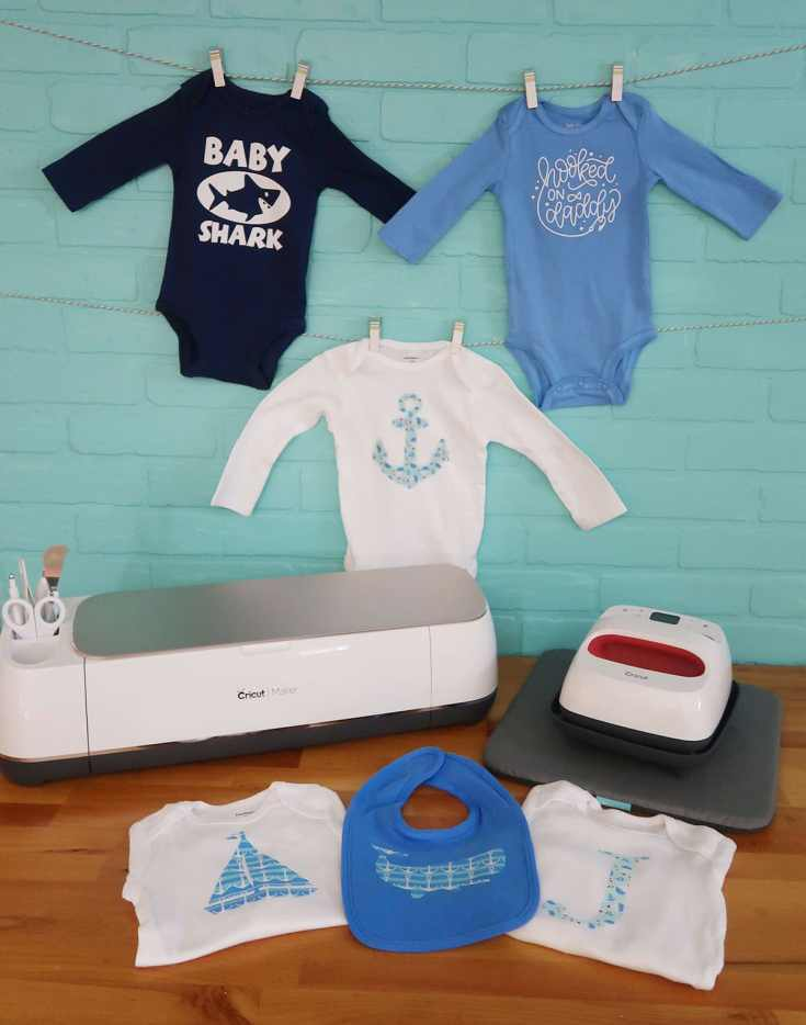 DIY Onesie Making Station for a Baby Shower