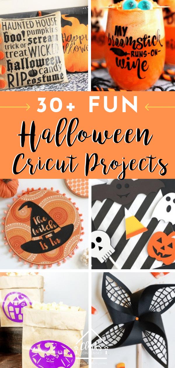 Cricut Halloween Projects / Cricut Ideas / Cricut Halloween Ideas / DIY Halloween Ideas