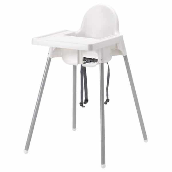 A close up of a baby stool